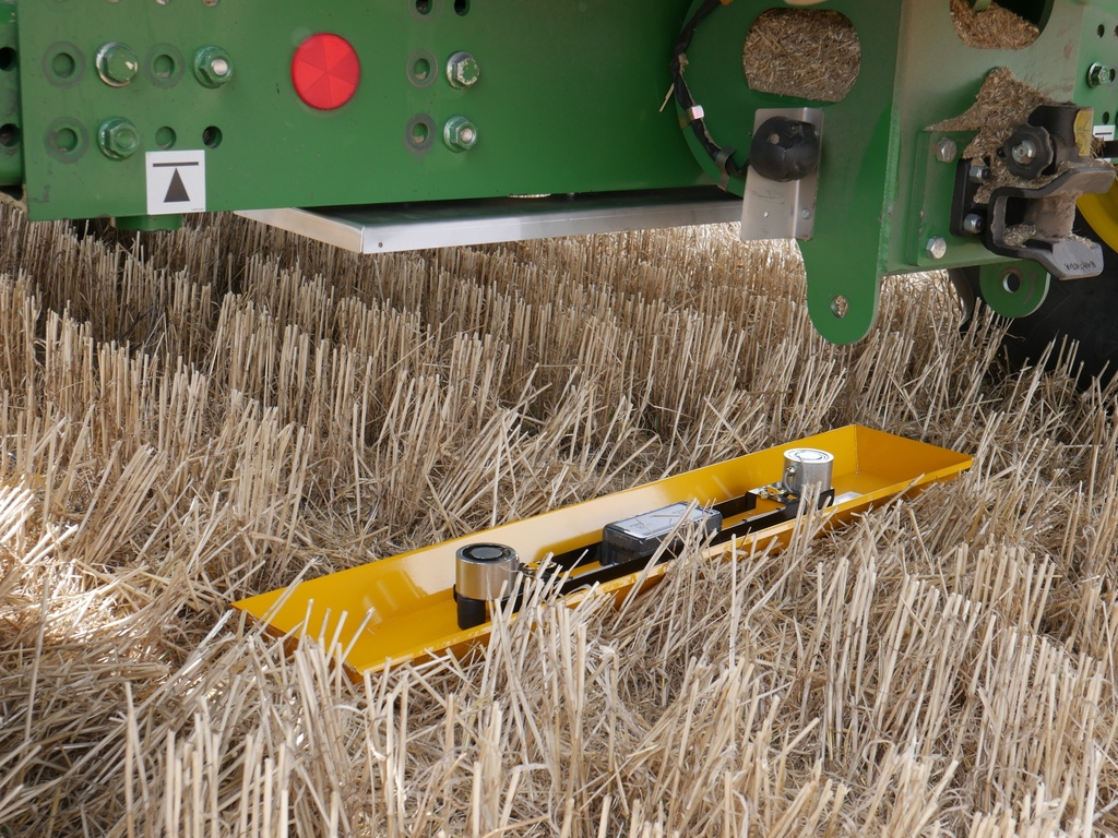 Harvest Calibration/Loss Tray - Drop Tray