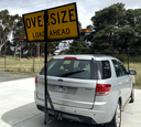 Oversize Load Ahead - Towbar Mount.