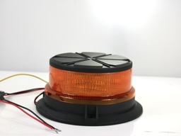 [10066] LED Beacon Amber Bolt On- Flashing Rotating